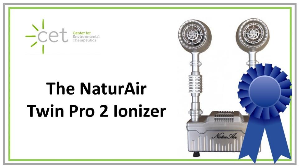 Twin Air Pro 2 Ionizer from NaturAir