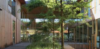 REHAB Basel, Clinic for Neurorehabilitation and Paraplegiology (Herzog & de Meuron architects; photo Daniel Thoma)